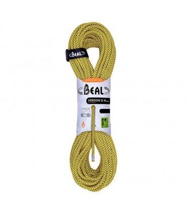 طناب 9 میلیمتری دینامیک بئال مدل BEAL Verdon II Dry Cover