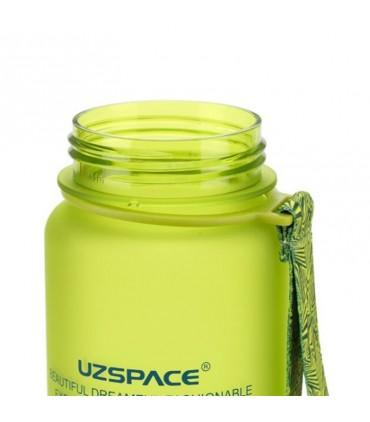 بطری آب 650 میلی لیتری Uzspace Tritan