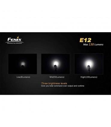 چراغ قوه فنیکس مدل E12